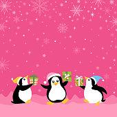 Penguins Exchange Gifts