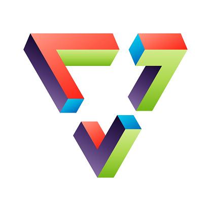 Penrose triangle design