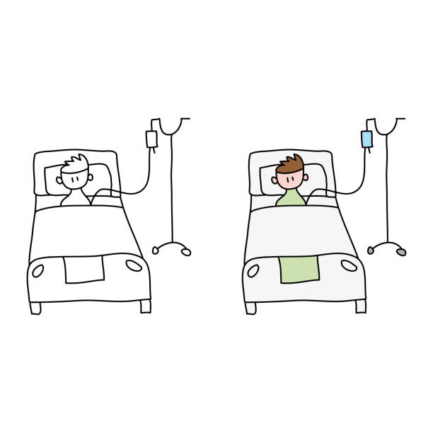 454 Drawing Of The Hospital Bed Illustrations Royalty Free Vector Graphics Clip Art Istock Then, extend a straight line downward from each of its three nearest corners. 454 drawing of the hospital bed illustrations royalty free vector graphics clip art istock