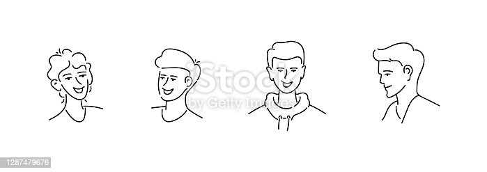 istock People and Avatar Vector illustration in a Flat Style 1287479676