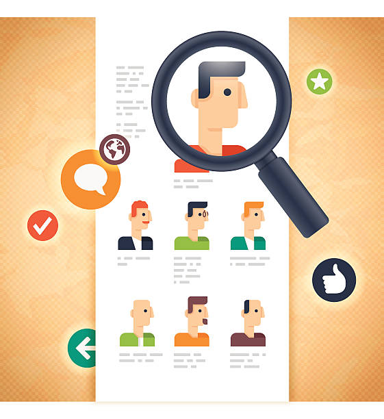 people and business or user profiles - old man showing thumbs up background stock illustrations