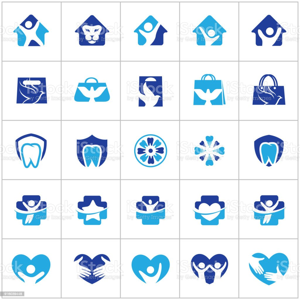 People And Kids Care Icon Design Hospital And Dental Symbols Hand