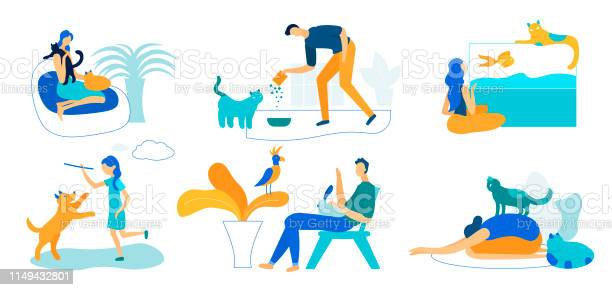 People and pets set isolated on white background vector id1149432801?b=1&k=6&m=1149432801&s=612x612&h=rp4di1oabkgt1rdfri 6nv2stedqfbblucaq30wbloc=