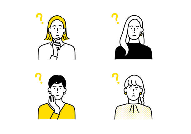 人のアバターアイコンセット - mind点のイラスト素材/クリップアート素材/マンガ素材/アイコン素材