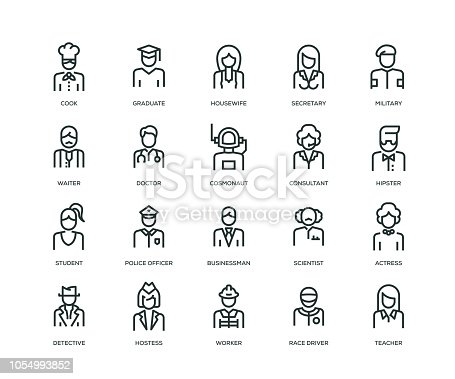 People, Avatars, Characters and Staff Icons