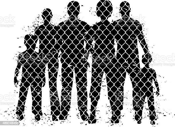 People behind wire fence vector id489248456?b=1&k=6&m=489248456&s=612x612&h=tlet9ukymdnj17ruplii6ns24mpcc gkxxqsxtpog c=