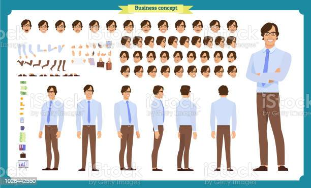 People character business set front side back view animated character vector id1028442550?b=1&k=6&m=1028442550&s=612x612&h=hgomcdk0jzq9lgedmkizjm5 fxv0tjpzk1w7urebb1m=