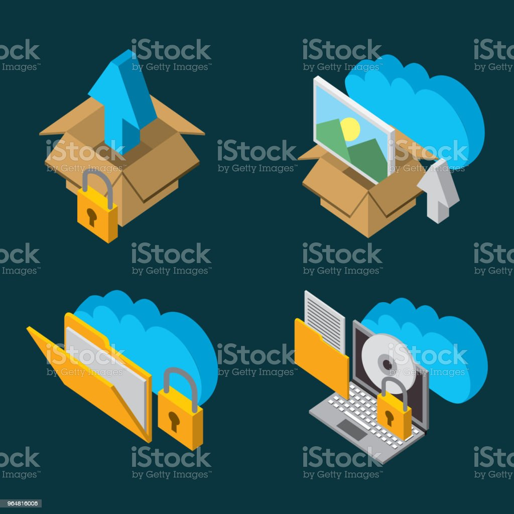 people cloud computing storage royalty-free people cloud computing storage stock vector art & more images of arrow symbol
