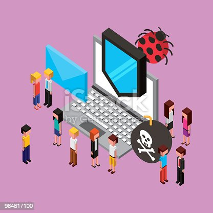People Cloud Computing Storage Stock Vector Art & More Images of Accessibility 964817100