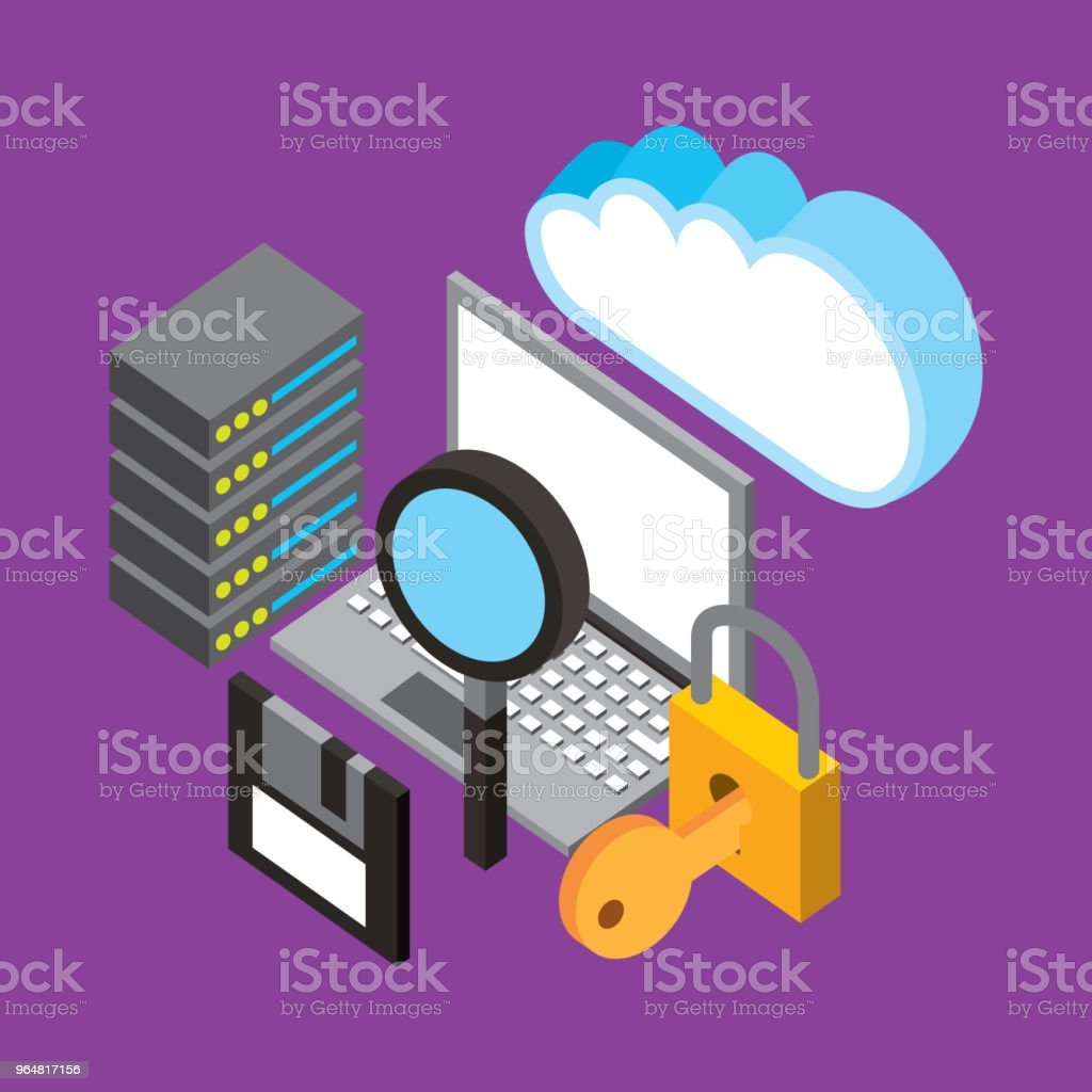 people cloud computing storage royalty-free people cloud computing storage stock vector art & more images of analyzing
