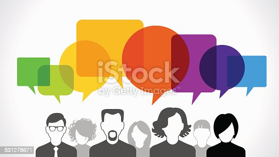 istock People communication vector 531278671