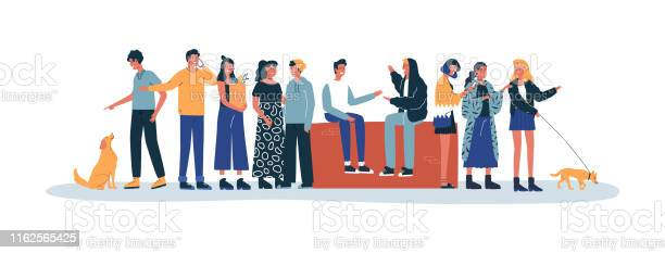 People doing daily life activity friends and pets vector id1162565425?b=1&k=6&m=1162565425&s=612x612&h=swhxyx8cnatmcp51gpefmct xu8spm5syoz6ye5fvia=