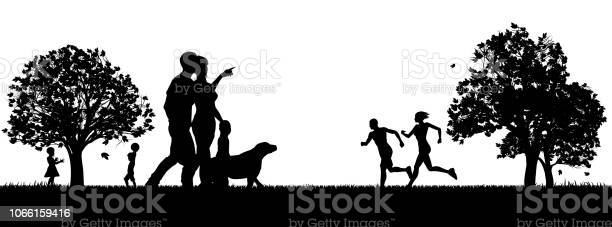 People enjoying the outdoors park silhouettes vector id1066159416?b=1&k=6&m=1066159416&s=612x612&h=6kfj3wur31sq8ei7cnkkd7 q2t0evcxhnckuoa1vlyc=
