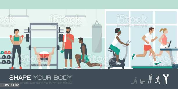 People exercising at the gym vector id915709002?b=1&k=6&m=915709002&s=612x612&h=pq3grch60qfjidwdpdxm184og9droirnbgqkqqytegg=