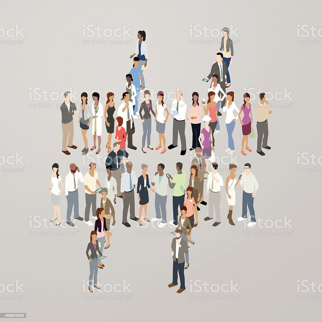 People forming hashtag royalty-free people forming hashtag stock vector art & more images of 2015
