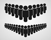 People group icon on the white background.