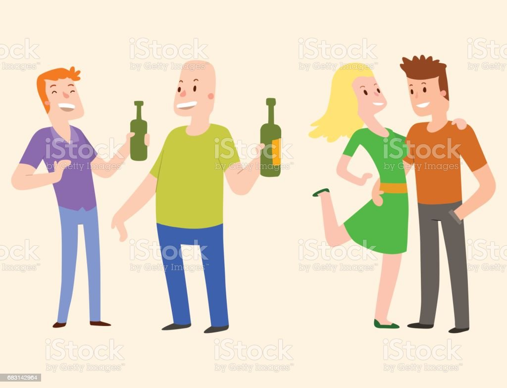People happy couple cartoon relationship characters lifestyle vector illustration relaxed friends royalty-free people happy couple cartoon relationship characters lifestyle vector illustration relaxed friends 귀여운에 대한 스톡 벡터 아트 및 기타 이미지