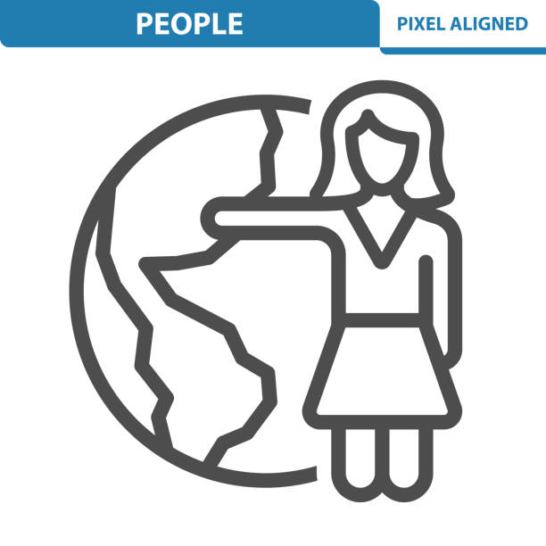 people icon - travel agent stock illustrations, clip art, cartoons, & icons