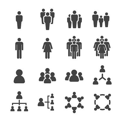 people icon set,vector illustration