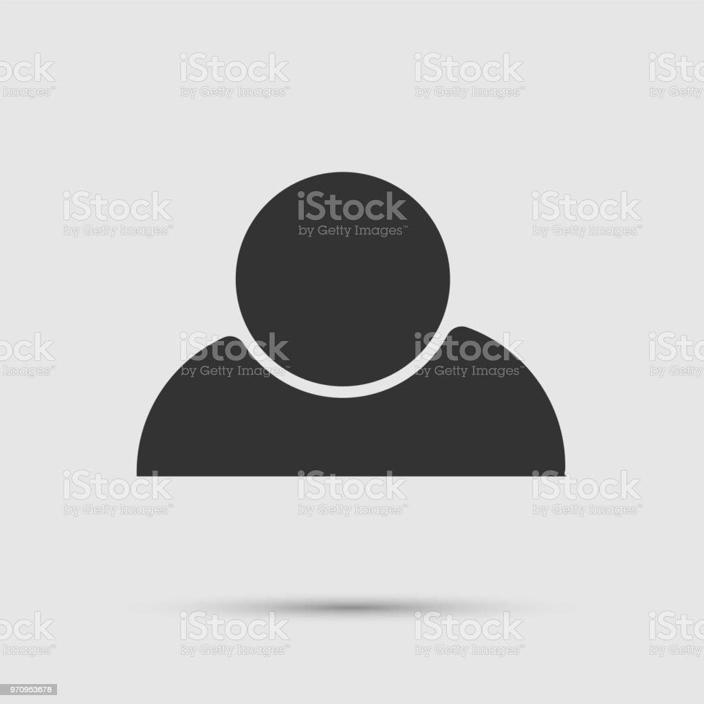 Symbol Einer Person Personlogo Stock Vektor Art Und Mehr Bilder Von