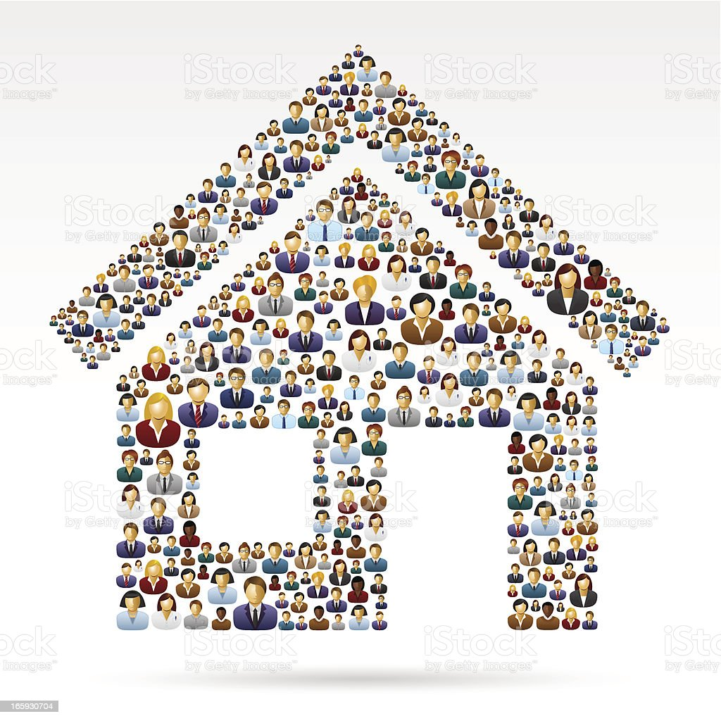 People icons house royalty-free people icons house stock vector art & more images of adult