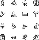 People icons - Regular Outline