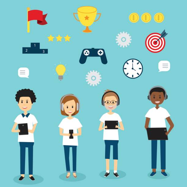 Top 60 Gamification Clip Art, Vector Graphics and ...