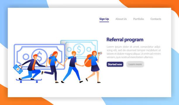 Referral program template