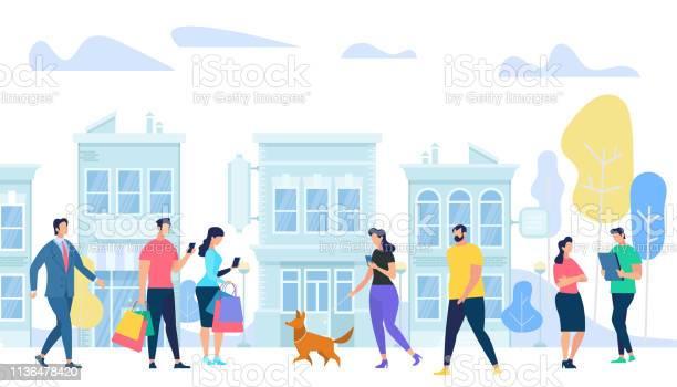 People lifestyle in city men and woman walking vector id1136478420?b=1&k=6&m=1136478420&s=612x612&h=yift6yavoorhww3pev3ihcz2puef6wwaeeihzjzoikm=