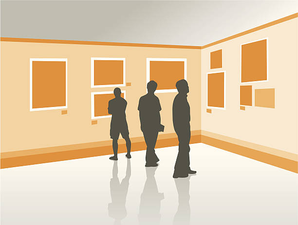 アートギャラリー - 美術館点のイラスト素材/クリップアート素材/マンガ素材/アイコン素材