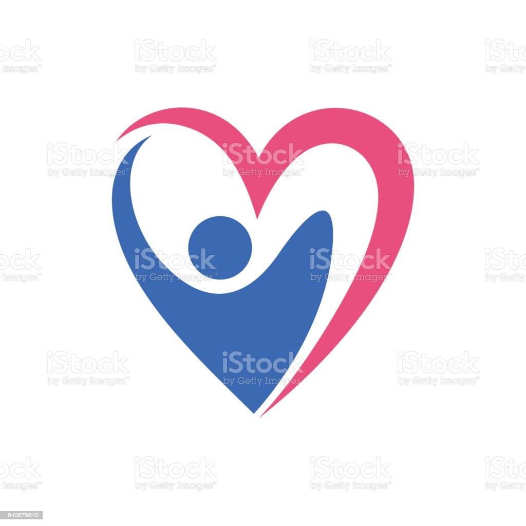 Les gens aiment Template Design vecteur, emblème, Concept Design, créatif symbole, icône - Illustration vectorielle