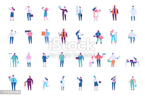 istock People of different occupations big vector set 1070401064