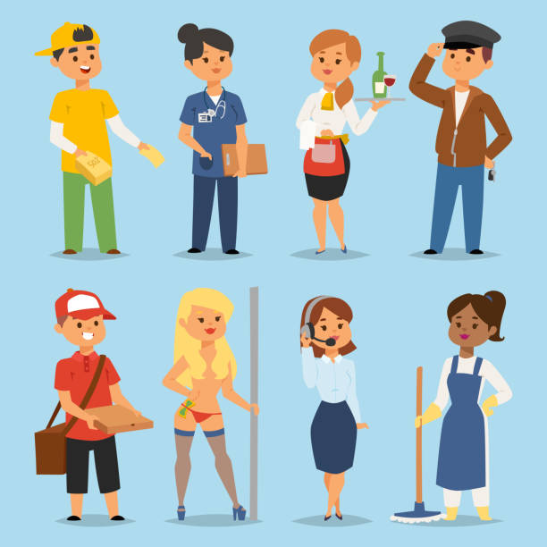 3 627 Part Time Job Illustrations Royalty Free Vector Graphics Clip Art Istock