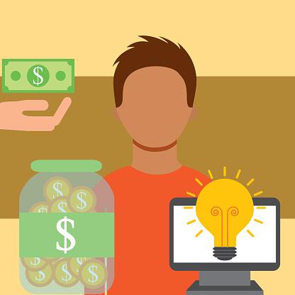 Människor Som Sparar Pengar-vektorgrafik och fler bilder på Affärsstrategi