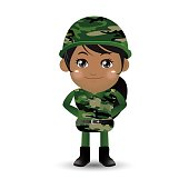 People Set - Profession - Army