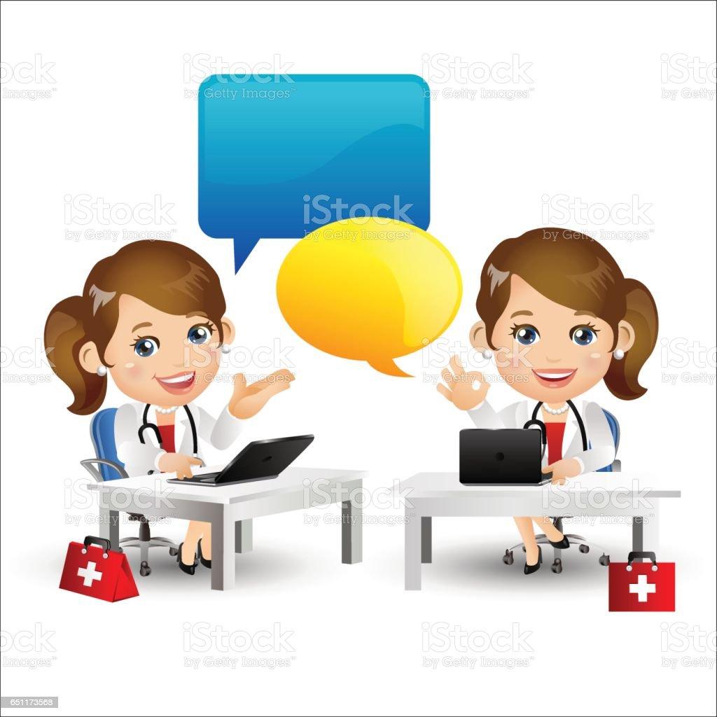 People Set - Profession - Doctor