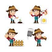 People Set - Profession - Farmer
