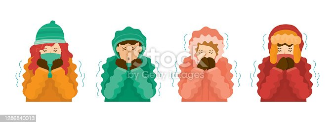 istock People Shivering by Cold Weather 1286840013