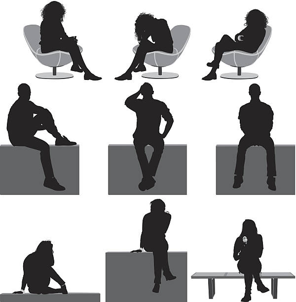 People sitting People sittinghttp://www.twodozendesign.info/i/1.png sitting stock illustrations