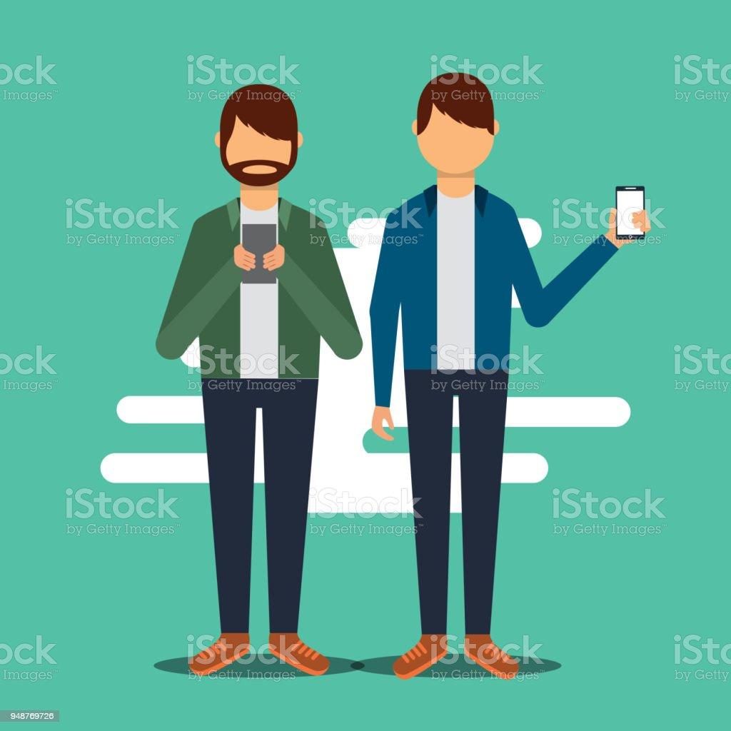 erwachsene soziale Medien