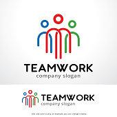 People Symbol Template Design Vector, Emblem, Design Concept, Creative Symbol, Icon