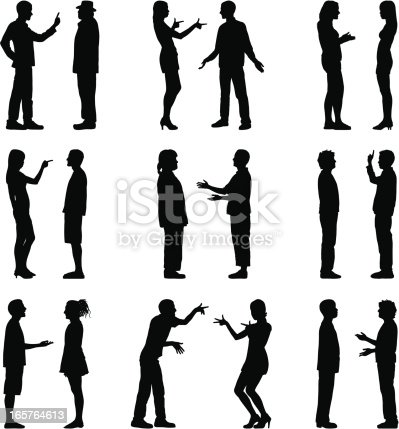 people talking silhouettes stock vector art   more images people talking clip art gif people talking clip art yawning