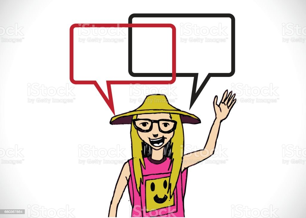 People thinking and peoples talking with dialog speech bubbles royalty-free people thinking and peoples talking with dialog speech bubbles stock vector art & more images of abstract