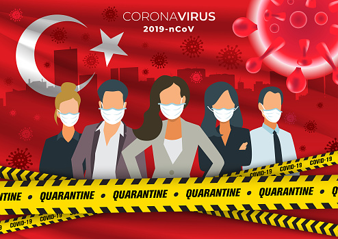 People, virus outbreak and quarantine-Turkey