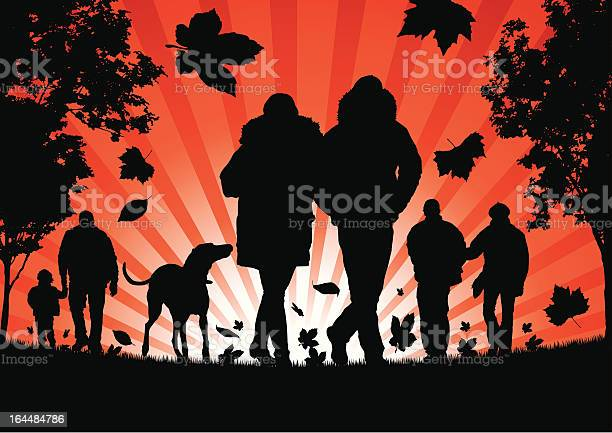 People walking in the autumn leaves vector id164484786?b=1&k=6&m=164484786&s=612x612&h=m15is4 as21ilrao asn2dqdmo sdqgw1clvjw60q8w=