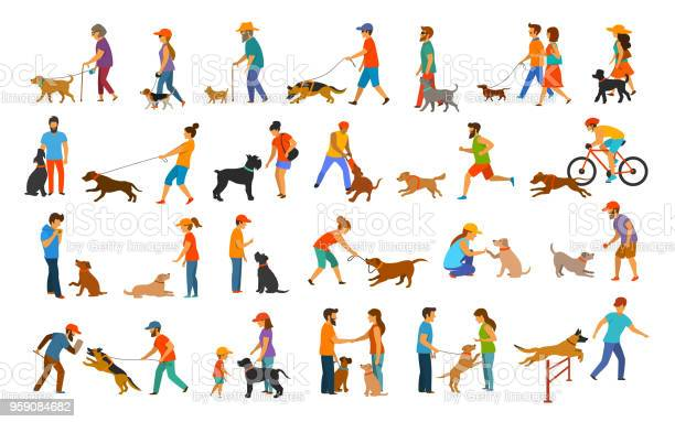 People with dogs graphic collection vector id959084682?b=1&k=6&m=959084682&s=612x612&h=as9t5eov6jud3 pvyipkkccfgtbu2d7xa5ruqz39aio=