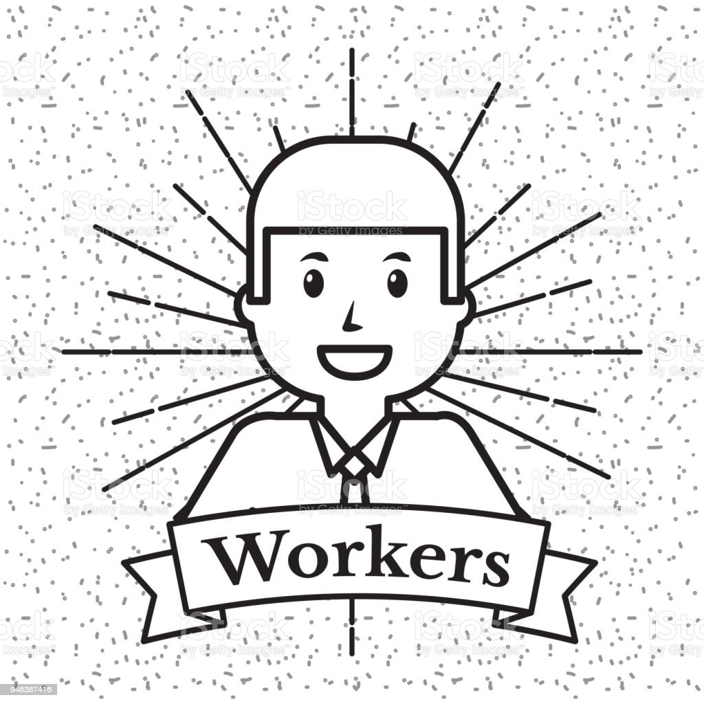 people workers  professio vector art illustration