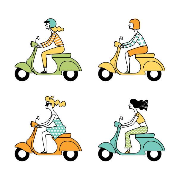 People_figure5 vector art illustration