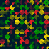 Pepper Abstract Circle Design Pattern