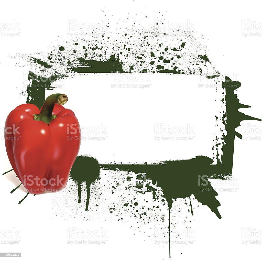 pepper banner royalty-free stock vector art